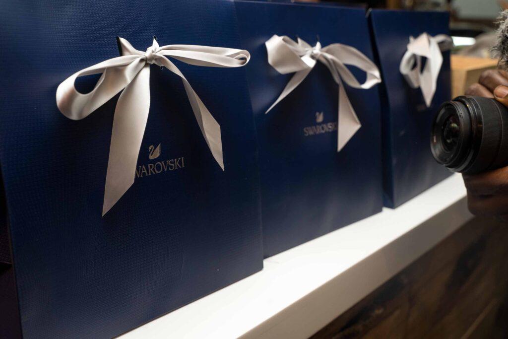 swarovski nigeria crystal brunch gift bags